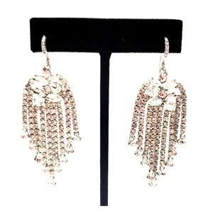 《INC》NEW Cocktail Party Earrings CZ Dangle Jewels